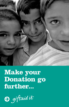 Make your Donation go further... giftaid it